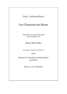 Les Chansons des Roses (2003): Les Chansons des Roses (2003) by Franz Ferdinand Kaern
