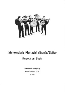 Intermediate Mariachi: For vihuela/guitar by folklore