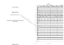 Concerto for Violin and Orchestra No.3 in E Major: Movement III Polacca by Niccolò Paganini