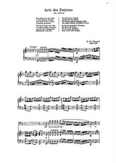 Otto, King of Germany, HWV 15: Arie des Emireno by Georg Friedrich Händel