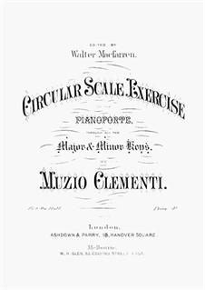 Circula Scale Exercises: Circula Scale Exercises by Muzio Clementi