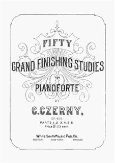 Grandi Studi di Perfezionamento, Op.409: Volume I by Carl Czerny