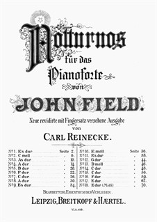 Nocturnes for Piano: Complete set by John Field