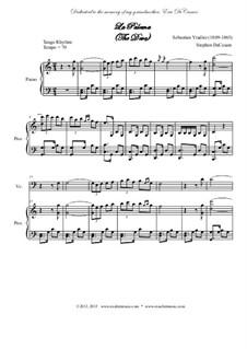 La Paloma (The Dove): For string quintet by Sebastián Yradier