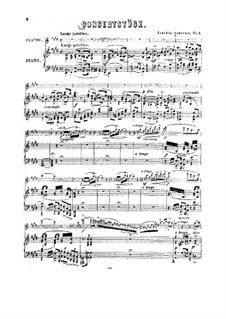 Concert Piece No.1 for Flute and Orchestra (or Piano), Op.3: Version for flute and piano by Joachim Andersen