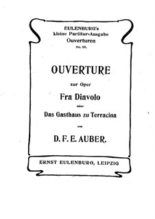 Overture: Full score by Daniel Auber