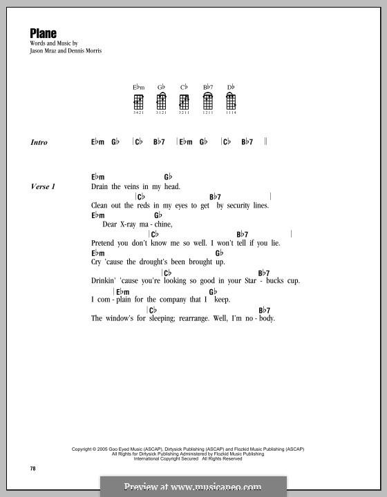 Plane: For ukulele by Dennis Morris