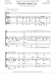 Cherubic Hymn 4.0 + Litany (in English): Cherubic Hymn 4.0 + Litany (in English) by Rada Po