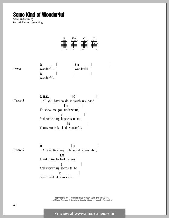 Some Kind of Wonderful (Toploader): Lyrics and chords by John Ellison