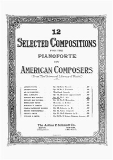 Two Pieces, Op.49: No.1 Aria by Edward MacDowell