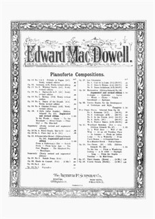Two Pieces, Op.49: No.2 Rigaudon by Edward MacDowell