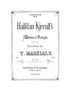 Album of Songs: Volume I by Halfdan Kjerulf