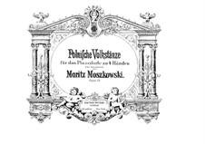 Four Polish Folk Dances, Op.55: For piano four hands by Moritz Moszkowski