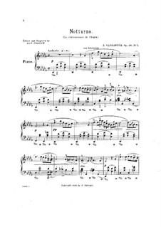 Nocturne, Op.48 No.1: Nocturne by Eduard Napravnik