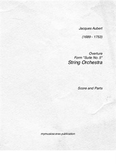 Overture: Overture by Jacques Aubert
