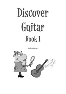 Discover Guitar: Book 1 by Carla Marie Music