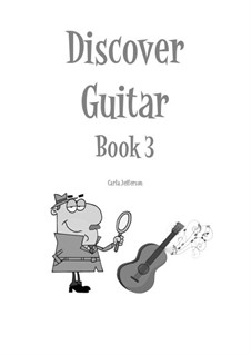 Discover Guitar: Book 3 by Carla Marie Music