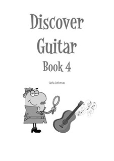 Discover Guitar: Book 4 by Carla Marie Music