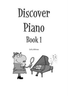 Discover Piano: Book 1 by Carla Marie Music