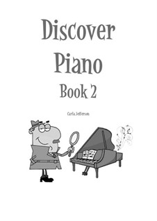 Discover Piano: Book 2 by Carla Marie Music