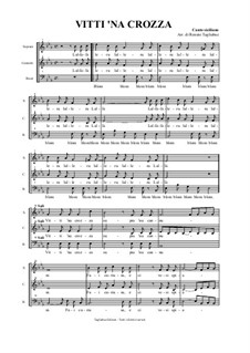 Vitti 'na Crozza - Sicilian folk song: Vitti 'na Crozza - Sicilian folk song by folklore