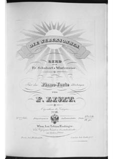 No.23 Die Nebensonnen (The Phantom Suns): Arrangement for piano, S.561 No.2 by Franz Schubert