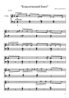 Классический блюз: Классический блюз by Viktor Gryaznov