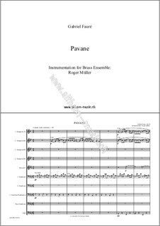 Pavane, Op.50: For wind ensemble by Gabriel Fauré