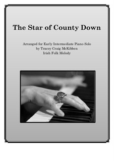 The Star of County Down: For piano solo by folklore
