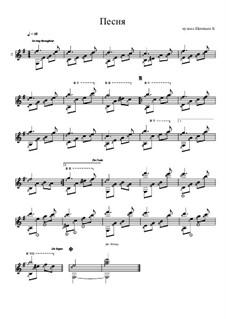 Песня: Песня by Konstantin Schenitsyn