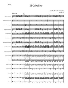 El Caballito: For elementary mariachi orff ensemble by folklore
