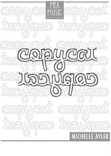 Copycat (Beginner Piano Solo): Copycat (Beginner Piano Solo) by MEA Music