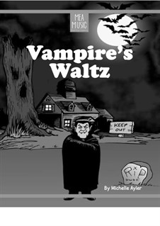 Vampire's Waltz (Beginner Piano Solo): Vampire's Waltz (Beginner Piano Solo) by MEA Music