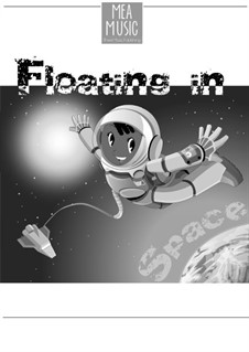 Floating in Space (Easy Piano Solo): Floating in Space (Easy Piano Solo) by MEA Music