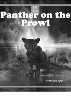 Panther on the Prowl (Beginner Piano Solo): Panther on the Prowl (Beginner Piano Solo) by MEA Music