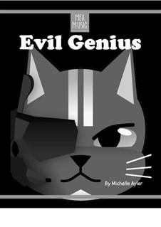Evil Genius (Beginner Piano Solo): Evil Genius (Beginner Piano Solo) by MEA Music