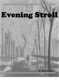 Evening Stroll (Beginner Piano Solo): Evening Stroll (Beginner Piano Solo) by MEA Music
