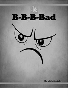 B-B-B-Bad (Easy Piano Solo): B-B-B-Bad (Easy Piano Solo) by MEA Music