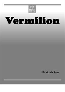 Vermilion (Intermediate Piano Solo): Vermilion (Intermediate Piano Solo) by MEA Music