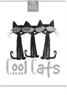Cool Cats (Beginner Piano Solo): Cool Cats (Beginner Piano Solo) by MEA Music