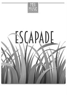 Escapade (Beginner Piano Solo): Escapade (Beginner Piano Solo) by MEA Music