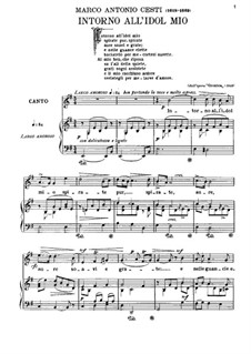 Orontea: Intorno all'idol mio by Pietro Antonio Cesti