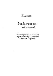 Die Schwimmer, Op.99: Die Schwimmer by Josef Lanner