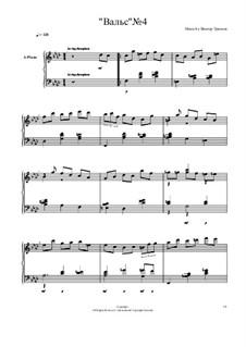Вальс No.4: Вальс No.4 by Viktor Gryaznov
