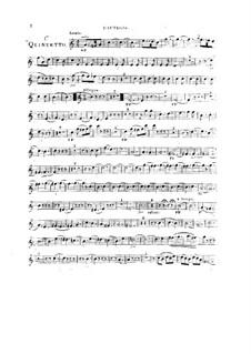 Woodwind Quintet in C Major, Op.99 No.1: Oboe part by Anton Reicha
