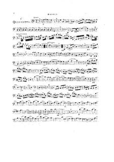 Woodwind Quintet in C Major, Op.99 No.1: Bassoon part by Anton Reicha