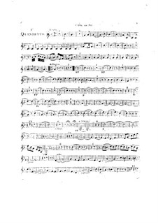 Woodwind Quintet in C Major, Op.99 No.1: French horn part by Anton Reicha
