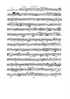 Woodwind Quintet in G Major, Op.99 No.6: Bassoon part by Anton Reicha