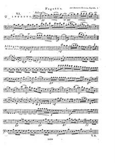 Woodwind Quintet in F Major, Op.88 No.6: Bassoon part by Anton Reicha