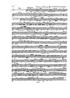 Woodwind Quintet in F Major, Op.88 No.6: Oboe part by Anton Reicha